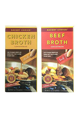MSG Savory Choice Broth
