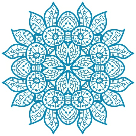 IC Diet Logo - Teal Mehndi Icon